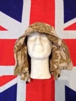 BRITISH DESERT CAMO RIPSTOP JACKET HOOD WITH WIRE